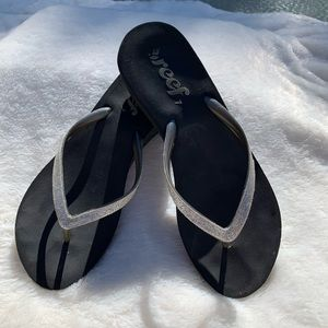 REEF WEDGE FLIP FLOP THONG SANDAL